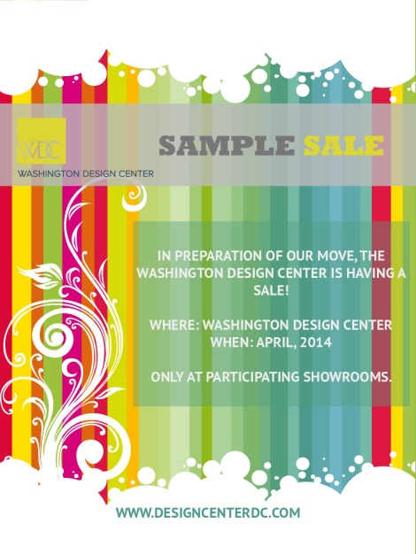 Design Center Sample Sale